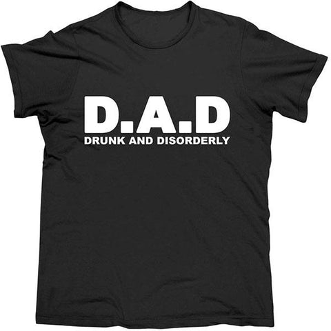 T-Shirt Drunk & Disorderly Black