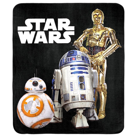 Star Wars Throw Rug - Droids Edition