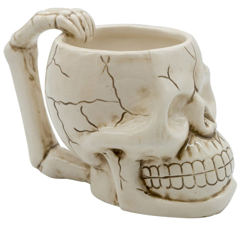 The Monkey Hut - Skull Ceramic Mug
