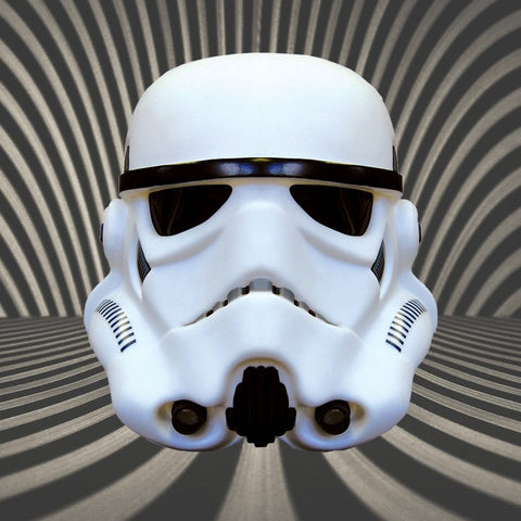 Star Wars Stormtrooper Helmet 3D Mood Light
