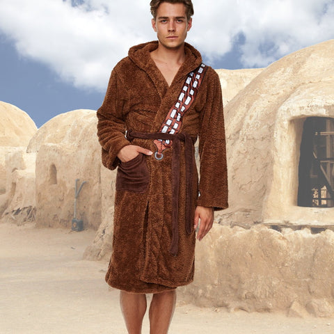 Star Wars Bath Robe Chewbacca Bagged