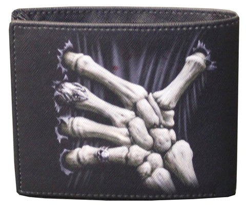 Sprial Bifold Wallet Death Grip