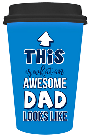 Travel Mug Dad - This Is What An Awesome Dad Looks Like