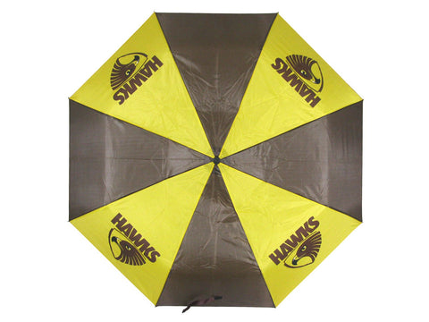 AFL Glovebox Umbrella Hawthorn