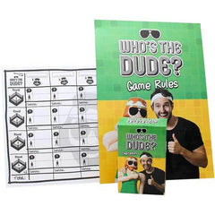 Game Who's the Dude?