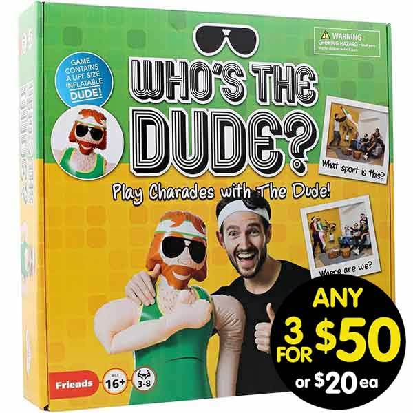 Who's the Dude?