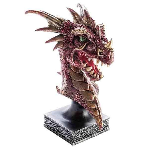 Red Large Dragon Head