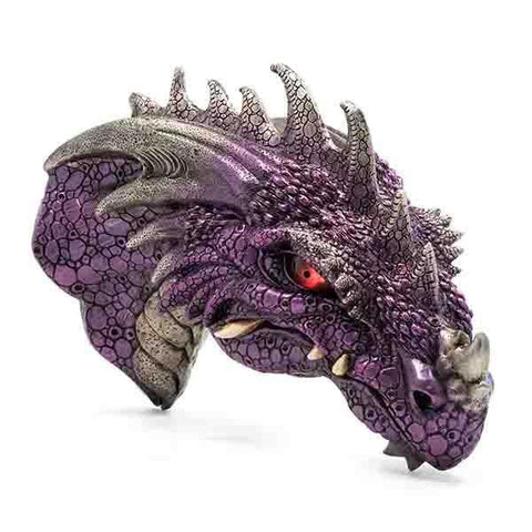 Purple Dragon Head LED Eyes
