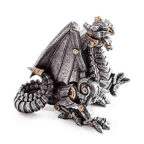 Dragon Steampunk With Lifted Claw