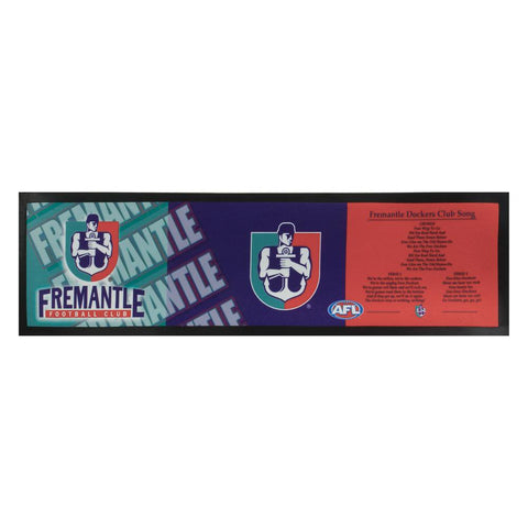 AFL Bar Runner Rubber Rolled Fremantle