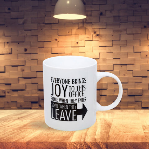 Everyone Brings Joy Mug