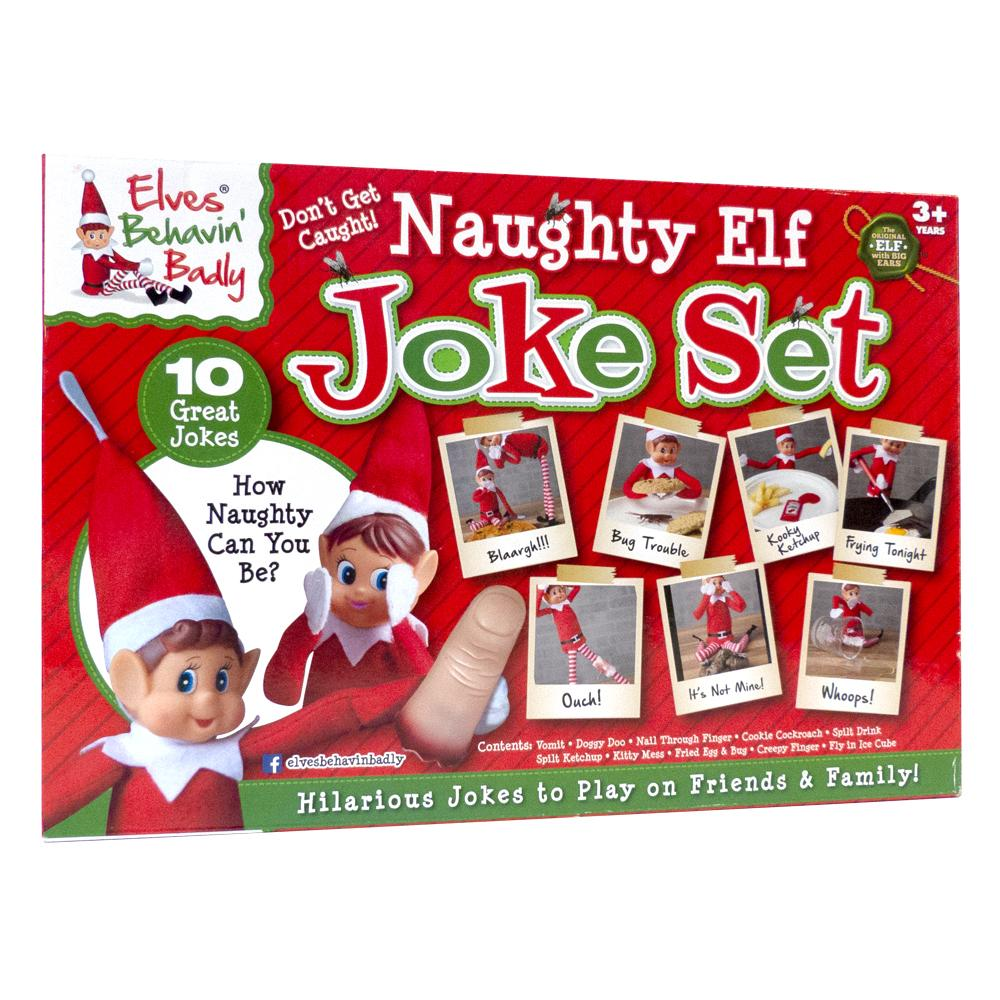 Naughty Elf Joke Set