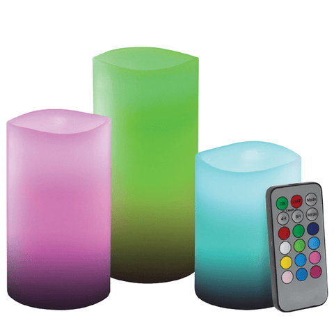 LED Colour Changing Candles