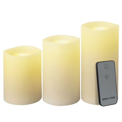 LED Candles with Flickering Light