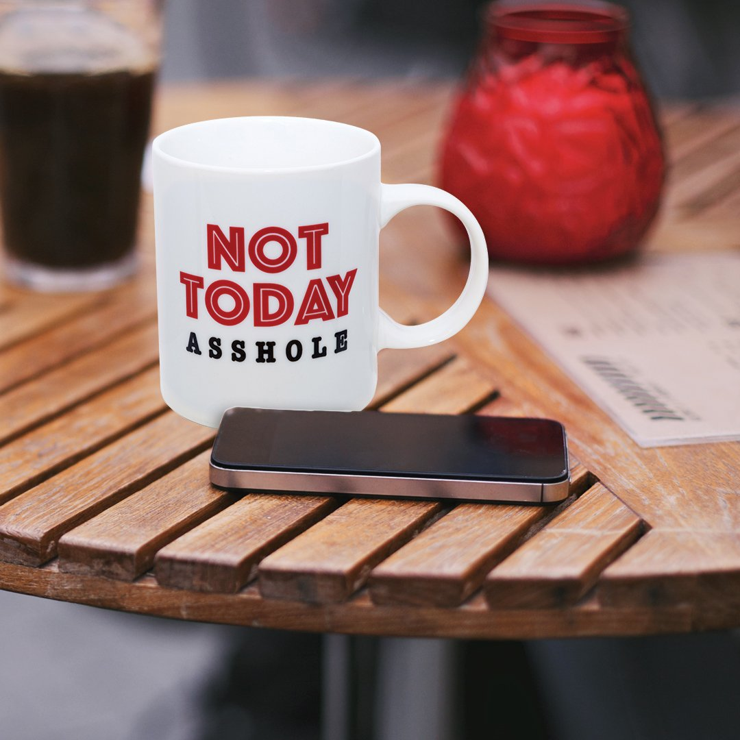 Not Today A**hole Mug