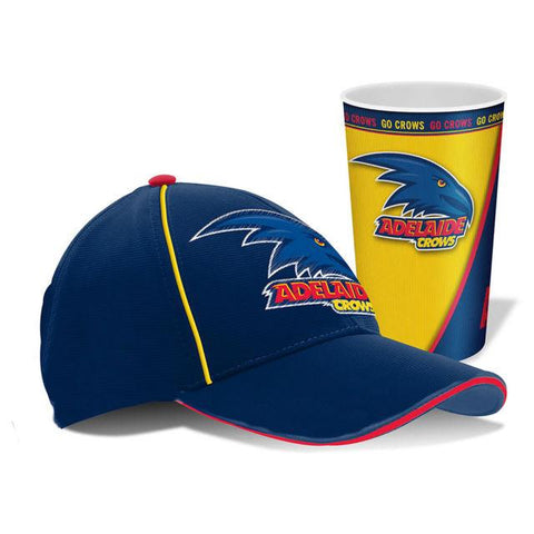 AFL Cap And Tumbler Pack Adelaide