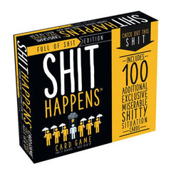 Shit Happens Full of Shit Edition Card Game