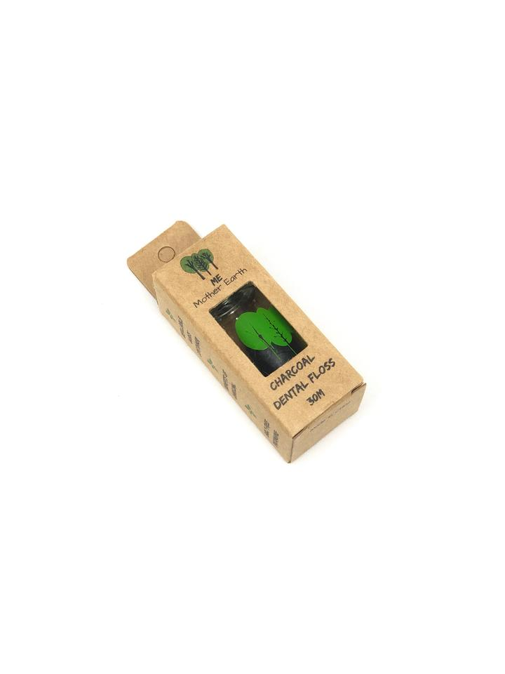 Load image into Gallery viewer, VEGAN Biodegradable Charcoal Dental Floss- Single