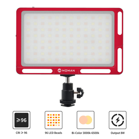 Moman ML3-D LED Video Light (Red)