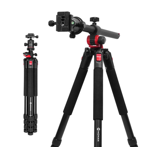 Moman MPT-284 Camera Tripod with Horizontal Arm