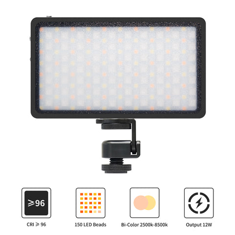 Moman MLX-RGB LED Video Light (Black)