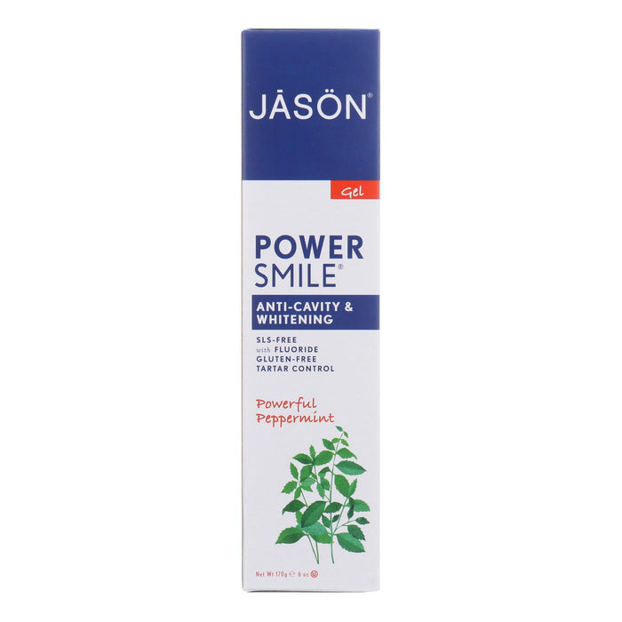 Jason Powersmile All Natural Whitening Coq10 Tooth Gel - 6 Oz
