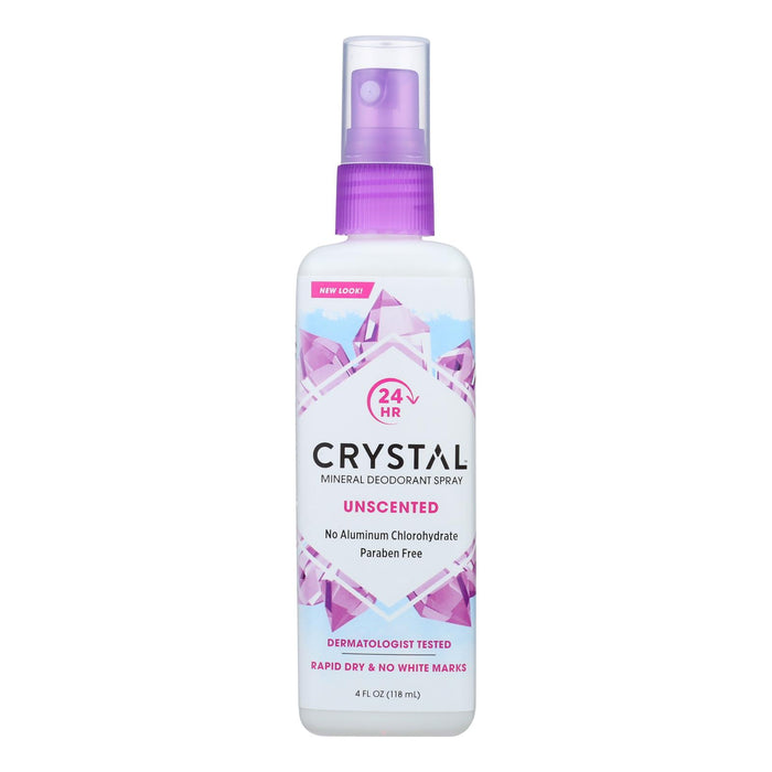 Crystal Body Deodorant Spray - 4 Fl Oz