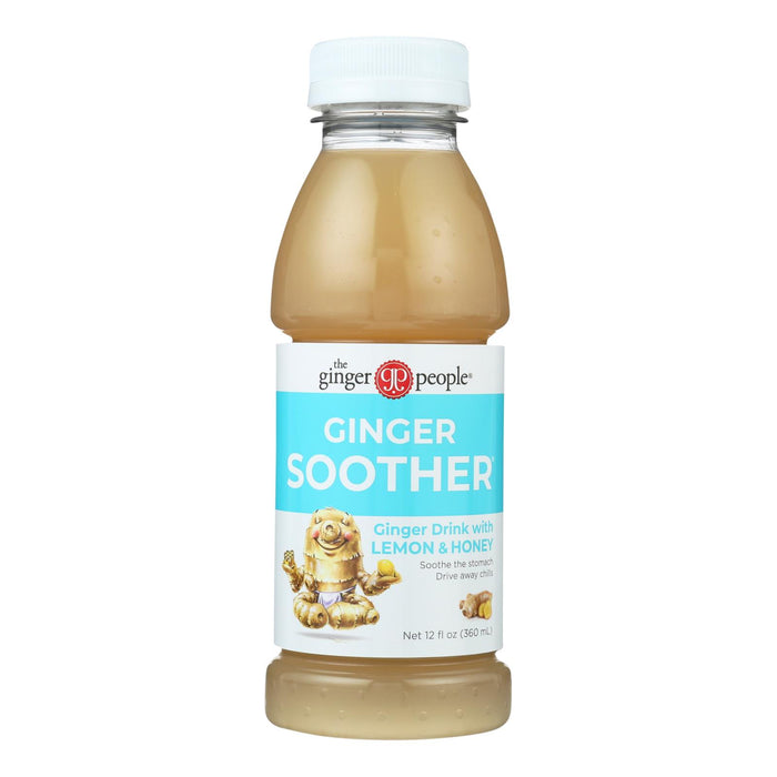 The Ginger People Soother - Ginger - Case Of 24 - 12 Fl Oz.