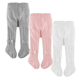Soft Newborn Baby Girl Solid Color Pantyhose Knit Warm Leggings Stockings