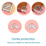 Baby Safety Silicone Protector Table Corner Edge Protection Cover