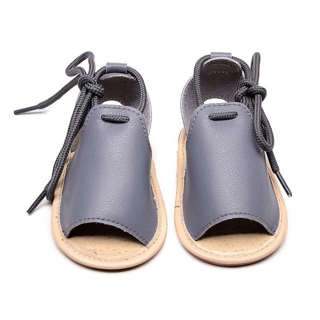 New Baby Boys Genuine Leather Sandals Fashion Baby Girls Moccasins
