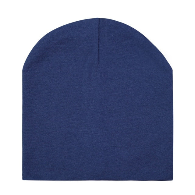 Solid Color Cotton Baby Boy Caps Baby Girl Beanie Children's Hats