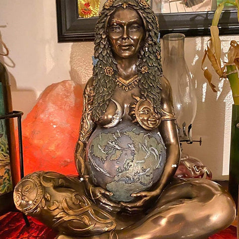 Mother Earth Goddess Statue - Home Atlantis