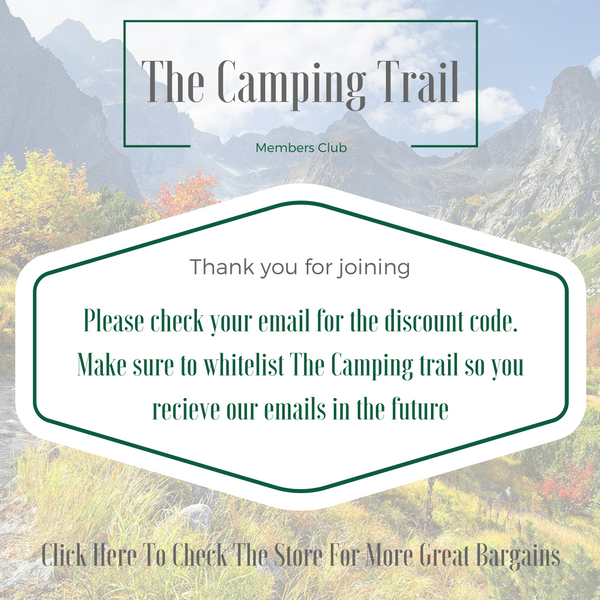 the camping trail