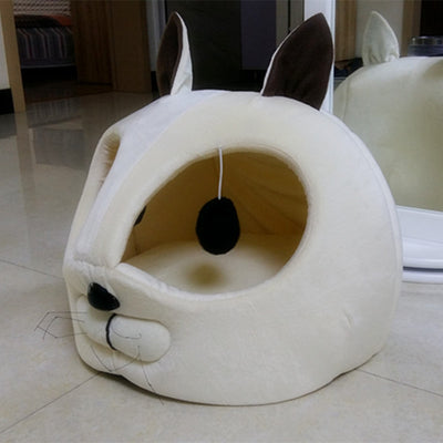 Artificial Short Plush Pet Bed