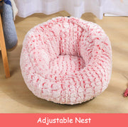 Pet Bed Soft Non-Slip Round