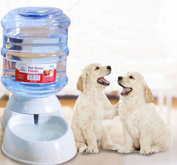 Automatic Pet Feeder Drinking Water Fountains