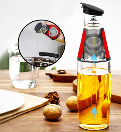 Press and Measure Oil & Vinegar