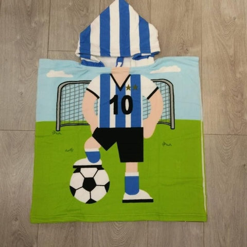 Serviette De Plage Enfant<br> Football