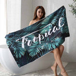 Serviette De Plage<br> Exotique Tropic