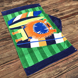 Serviette De Plage Enfant<br> Lion Surfer
