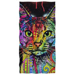 Serviette De Plage Chat Coloré | Serviette De Plage