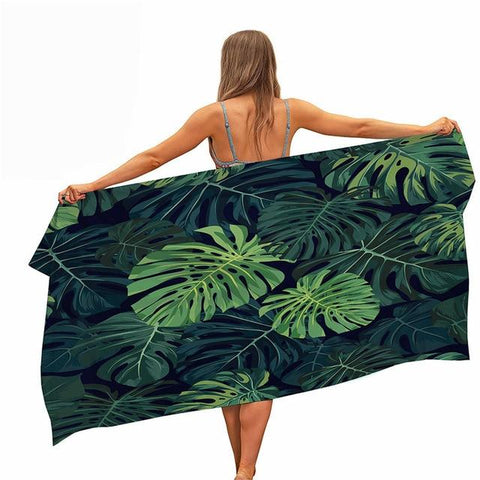 Serviette De Plage Jungle | Serviette De Plage