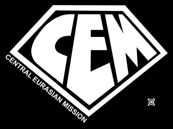 Central Eurasian Mission shirt design - Super Style