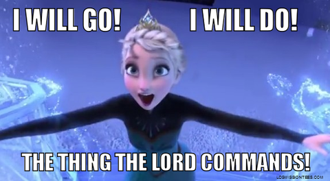 Mormon meme I will go I will do the things the lord commands
