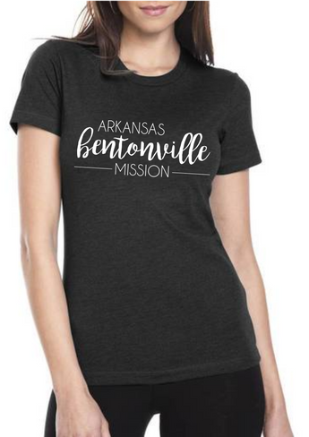 Women's Mission Shirt - Lettering Style