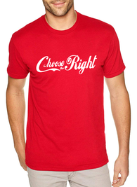 Men's Choose the Right Shirt - Coca Cola Style