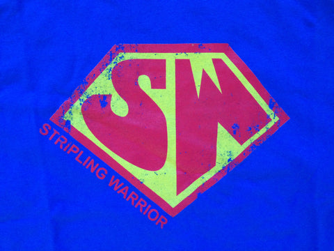 Women's Stripling Warriors Shirt - Super Woman style