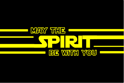 May The Spirit Be With You Shirt (Men's)