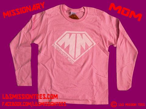 Missionary Mom Long-sleeved Shirt